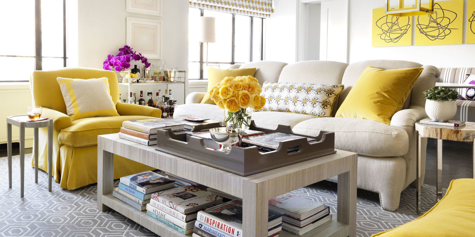 why yellow is going to make a huge comeback yellow paint and decor tips why - House Beautiful Living Room Colors