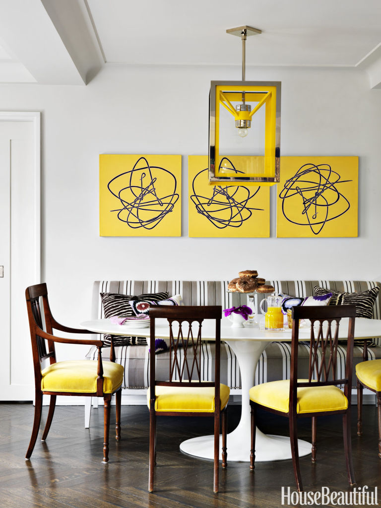 why yellow is going to make a huge comeback - yellow paint and