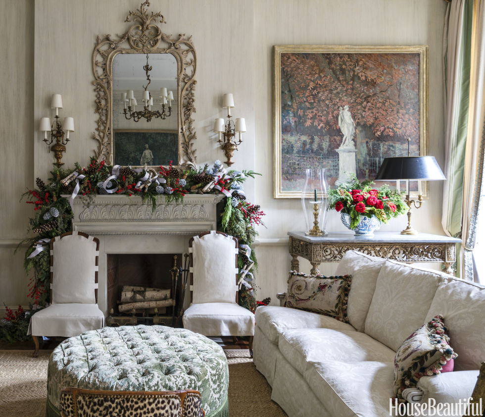 Charlotte Moss elegant christmas decorations - holiday decorating ideas from