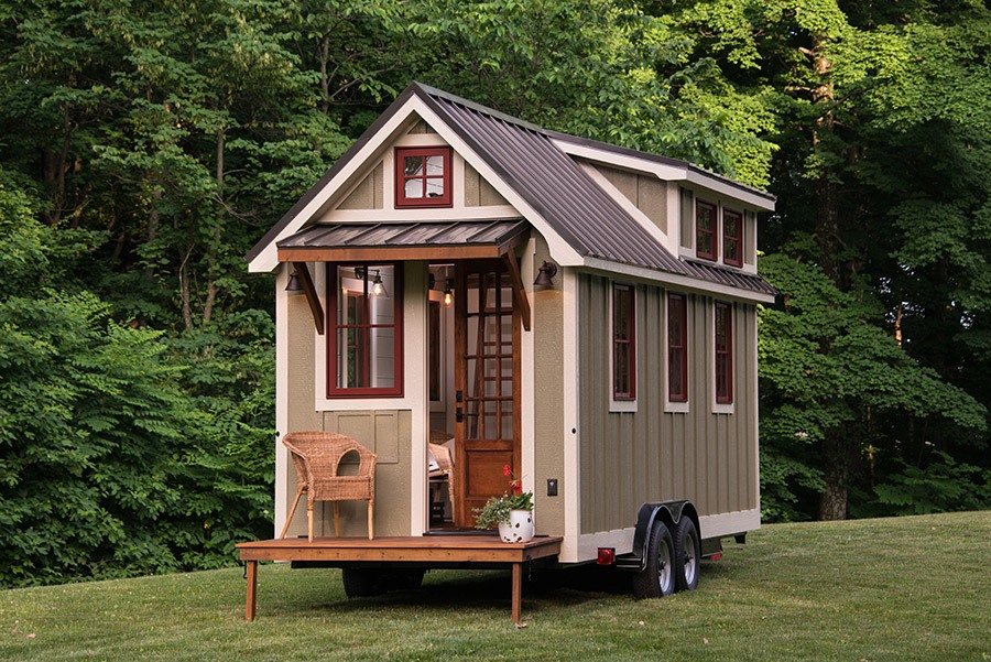 Little Houses tiny homes with tiny porches small houses youtube Dough Schroeder Of Timbercraft Tiny Homes In Guntersville Alabama Built This 150 Square Foot House In A Way That Totally Maximizes What Little Space It