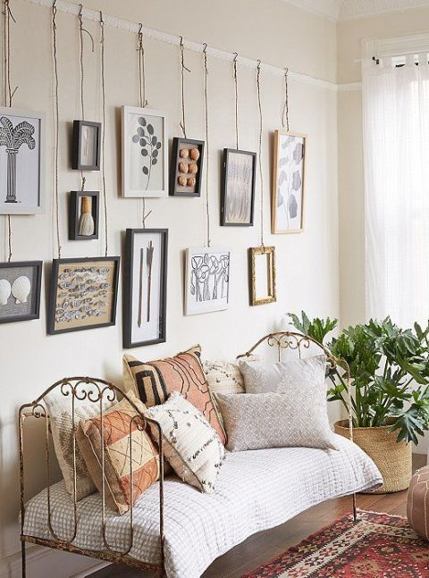 How To Hang A Picture On The Wall hang art without nails - how to hang art