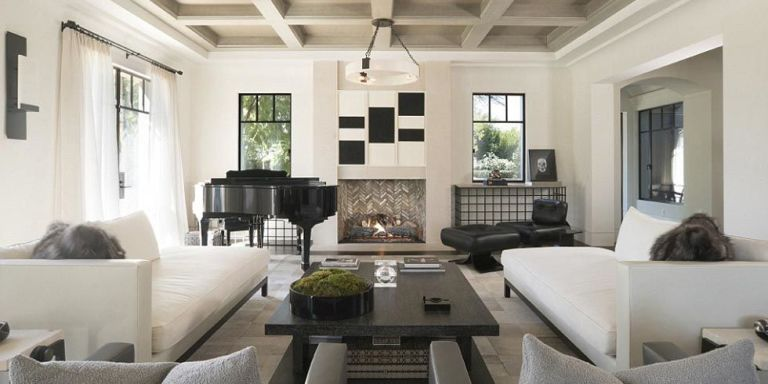 Kourtney Kardashian Didnu0027t Design Her Living Room With Comfort In Mind