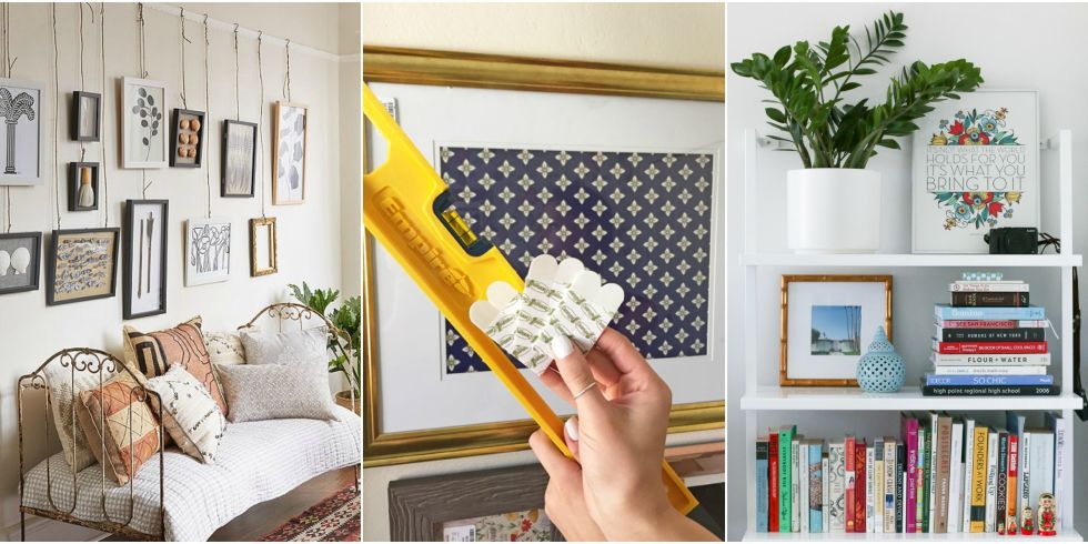 Wonderful Nails For Hanging Art Part - 8: How To Hang Art Without Nails