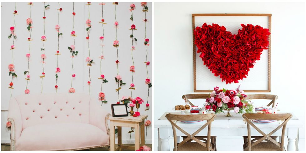 14 DIY Valentines Day Decorations Best Homemade Decorating
