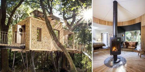 Luxury tree house the woodman 39 s tree house - Casas en arbol ...