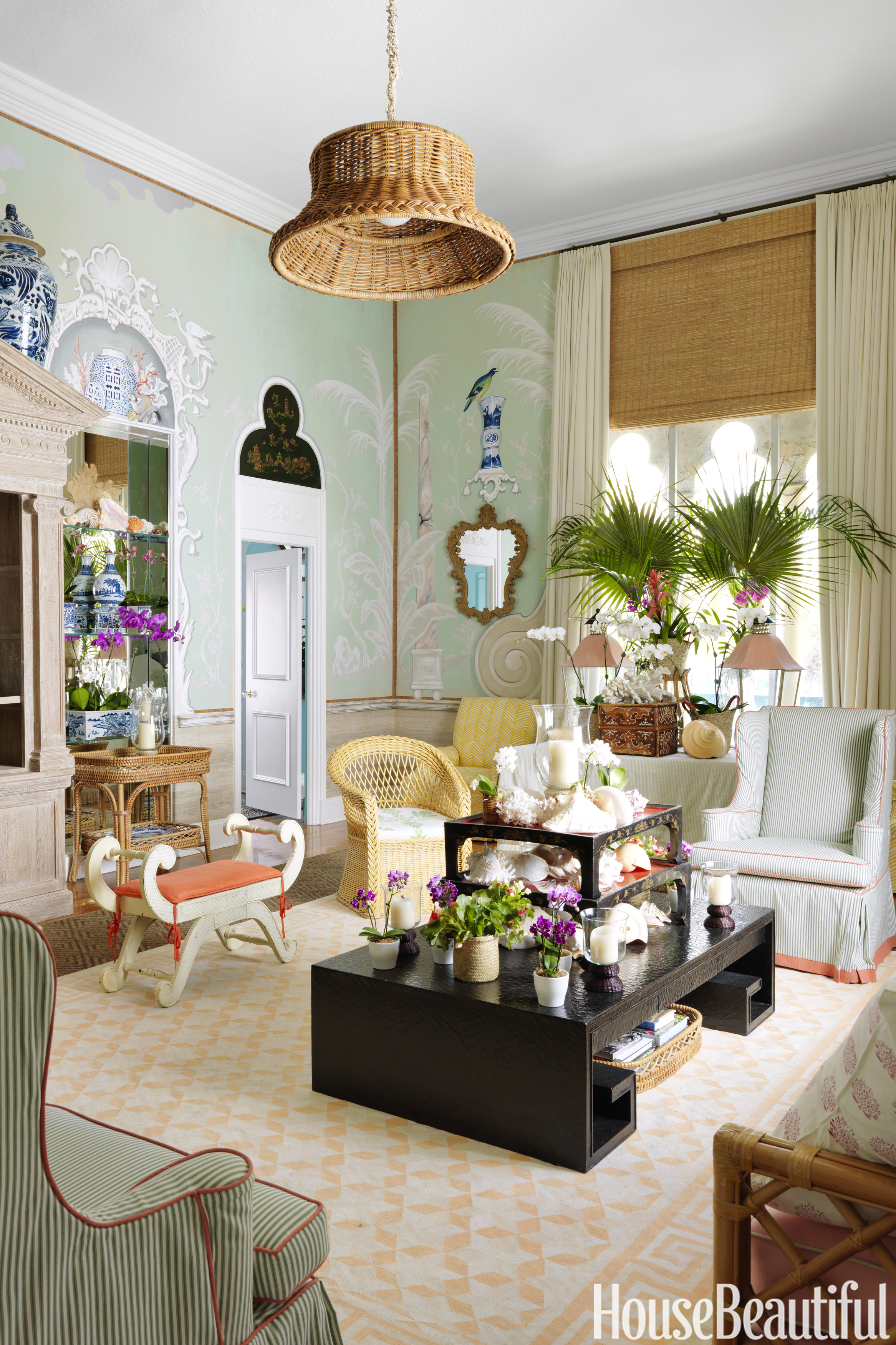 Palm Beach Apartment By Amanda Lindroth Trompe L 39 Oeil