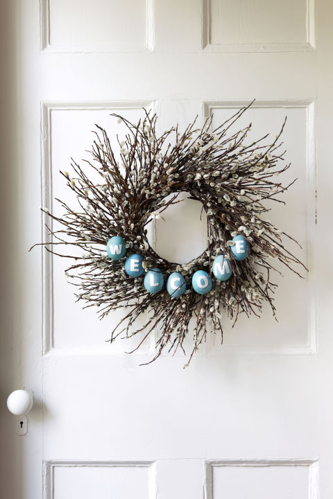 Wreath Ideas For Spring Rustic Amp Refined