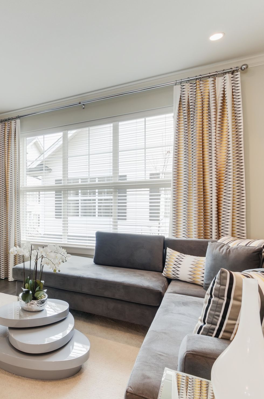 Windows In Ceiling interior designer window tricks - how to make windows look bigger