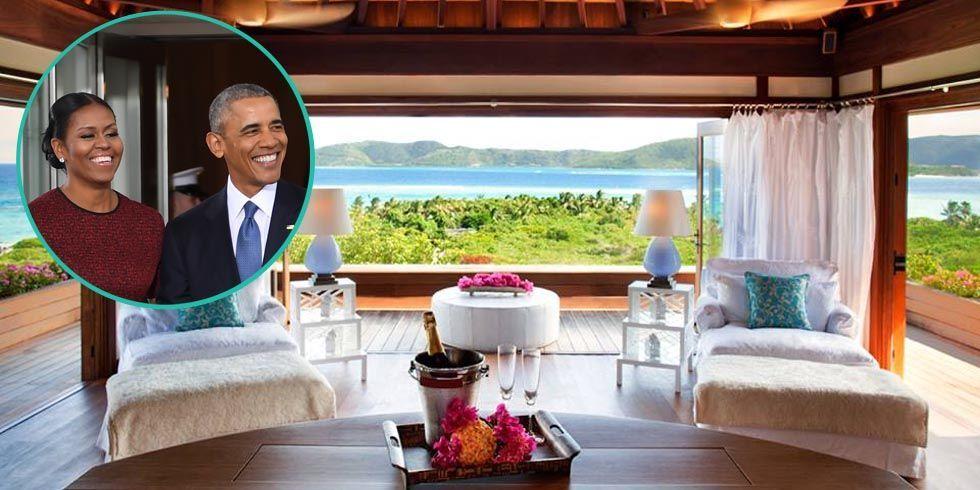 Obama Vacation At Necker Island The Obamas Virgin Island
