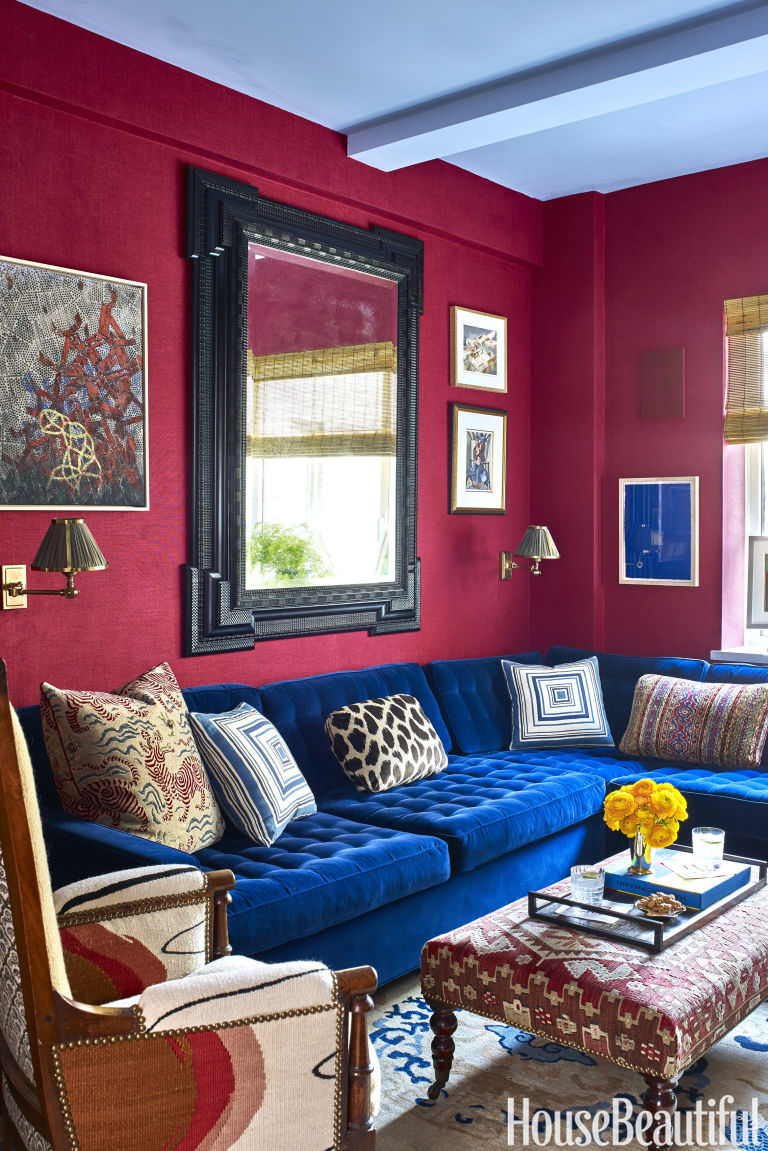 Nick Olsen nick olsen's tips for colorful decorating - bold design ideas