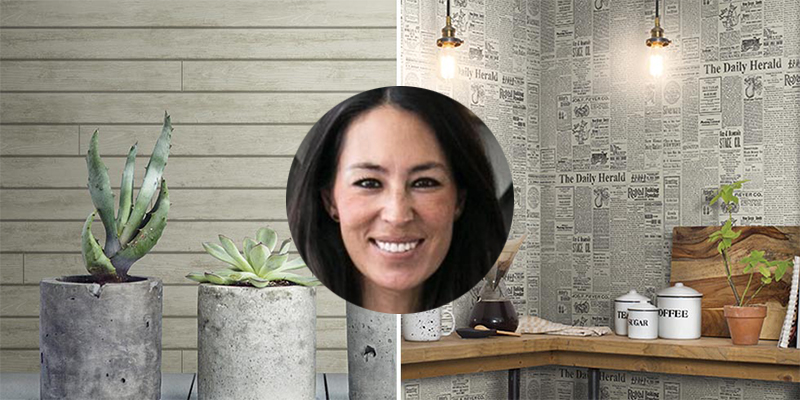 Joanna Gaines New Wallpaper Magnolia Home Shiplap Wallpaper