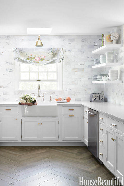 Kitchen Backsplash White 50 best kitchen backsplash ideas - tile designs for kitchen