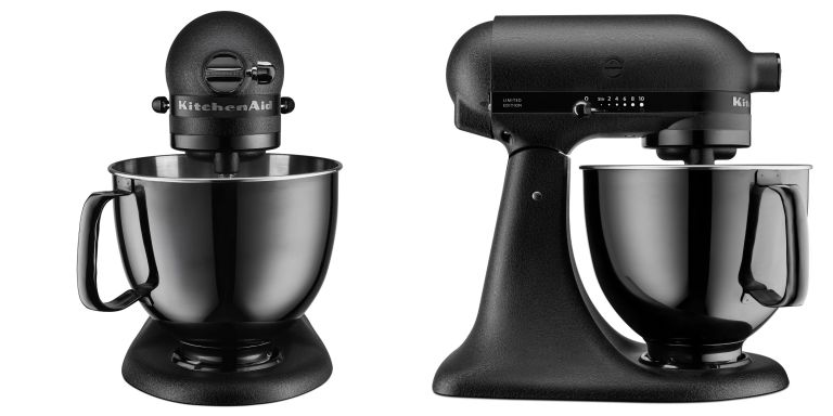 All Kitchenaid Colors kitchenaid all-black mixer now available - all-black limited edition