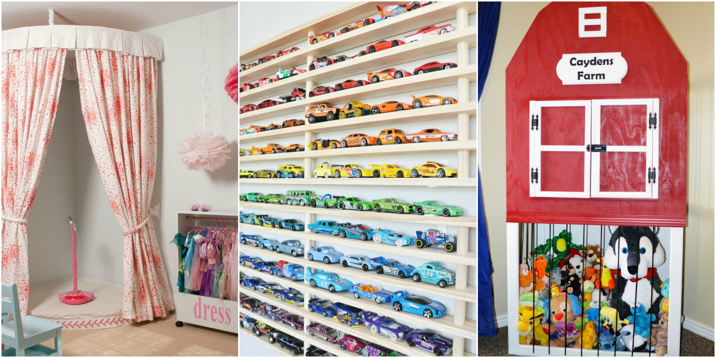 Stylish toy storage ideas how to organize toys for Small room toy storage ideas