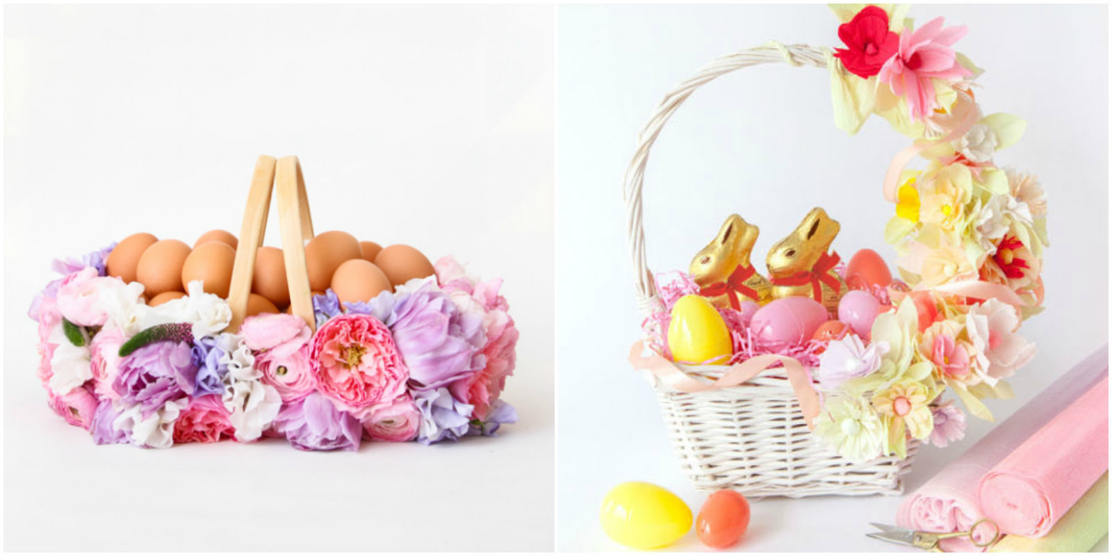 15 DIY Easter Basket Ideas Cute Easter Basket Crafts For Kids And Adults