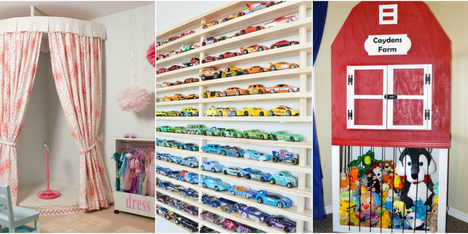 8 Kids Storage And Organization Ideas: Stylish Toy Storage Ideas