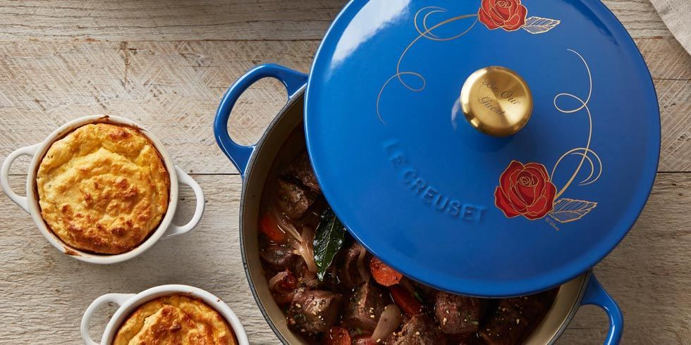 Le Creuset Disney Pot Beauty And The Beast Le Creuset Pot