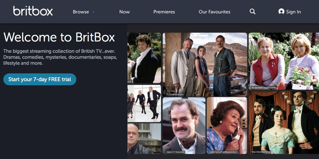 Britbox British Television Streaming Library Now Available