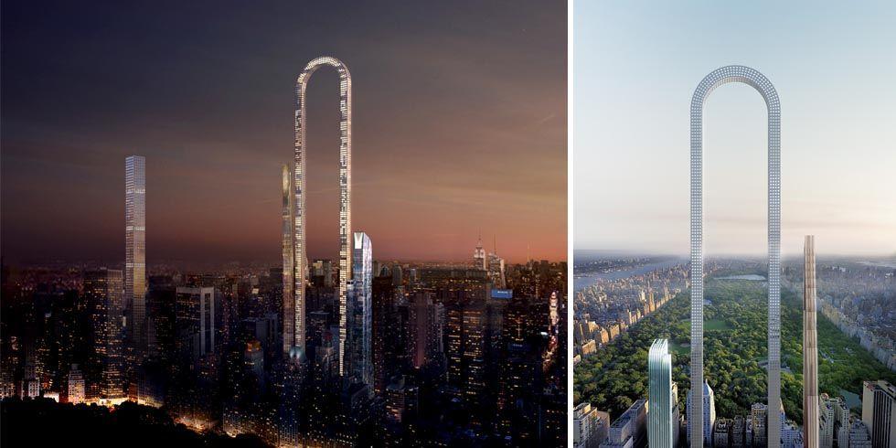 The Big Bend Building U Shaped Manhattan Skyscraper