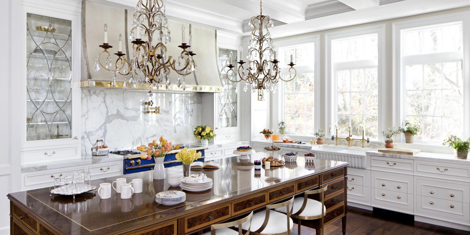 A Formal Kitchen By Richard Anuszkiewicz Elegant Kitchen