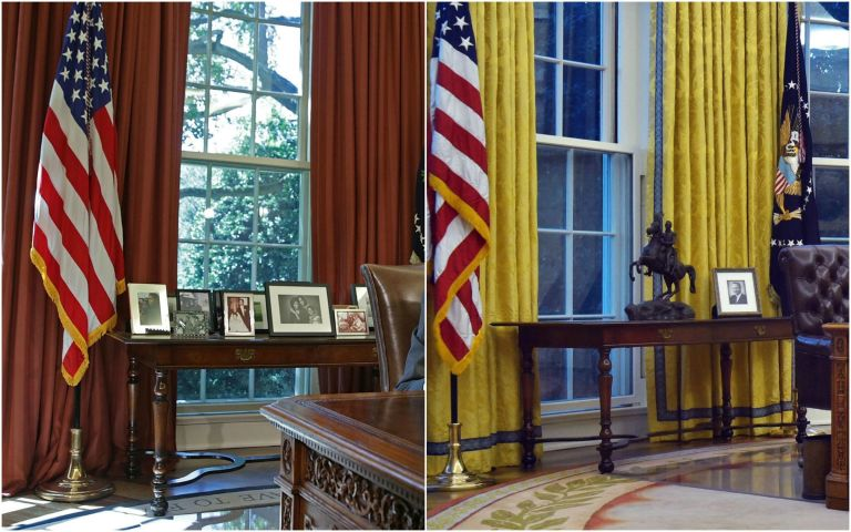 oval office renovation - the white house redesign