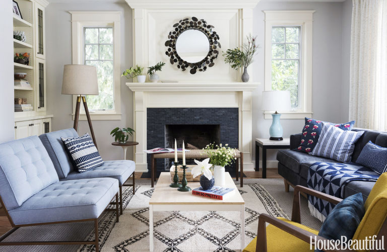 Humphrey Added Major Chairs (at Left) By Mitchell Gold + Bob Williams To A  Clientu0027s Living Room.