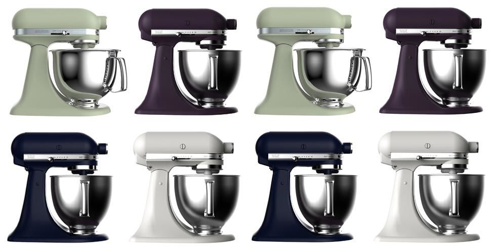KitchenAid Reveals Four New Mixer Colors New KitchenAid Colors