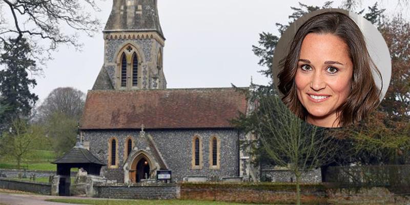 Pippa middleton 39 s ceremony venue st marks 39 church in St mark s church englefield