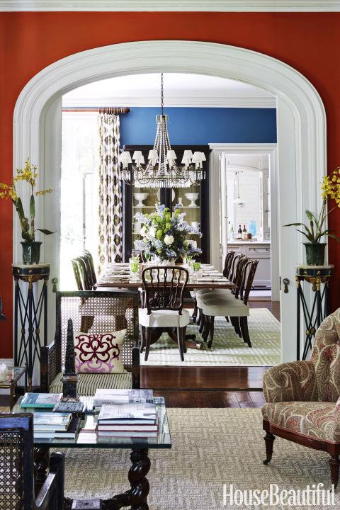 1850s New Jersey Home Michael Maher Decorates A Calvert