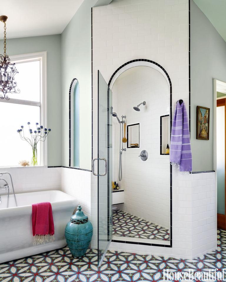 California Bathroom california bathroom with modern bohemian vibe - karen vidal