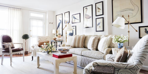 sarah bartholomew living room - Decorating Ideas For Small Spaces