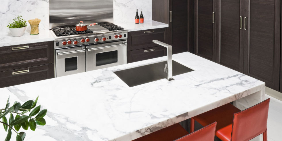 Pros and Cons of Marble Countertops - Case Against Marble Counters - kitchen counter marble