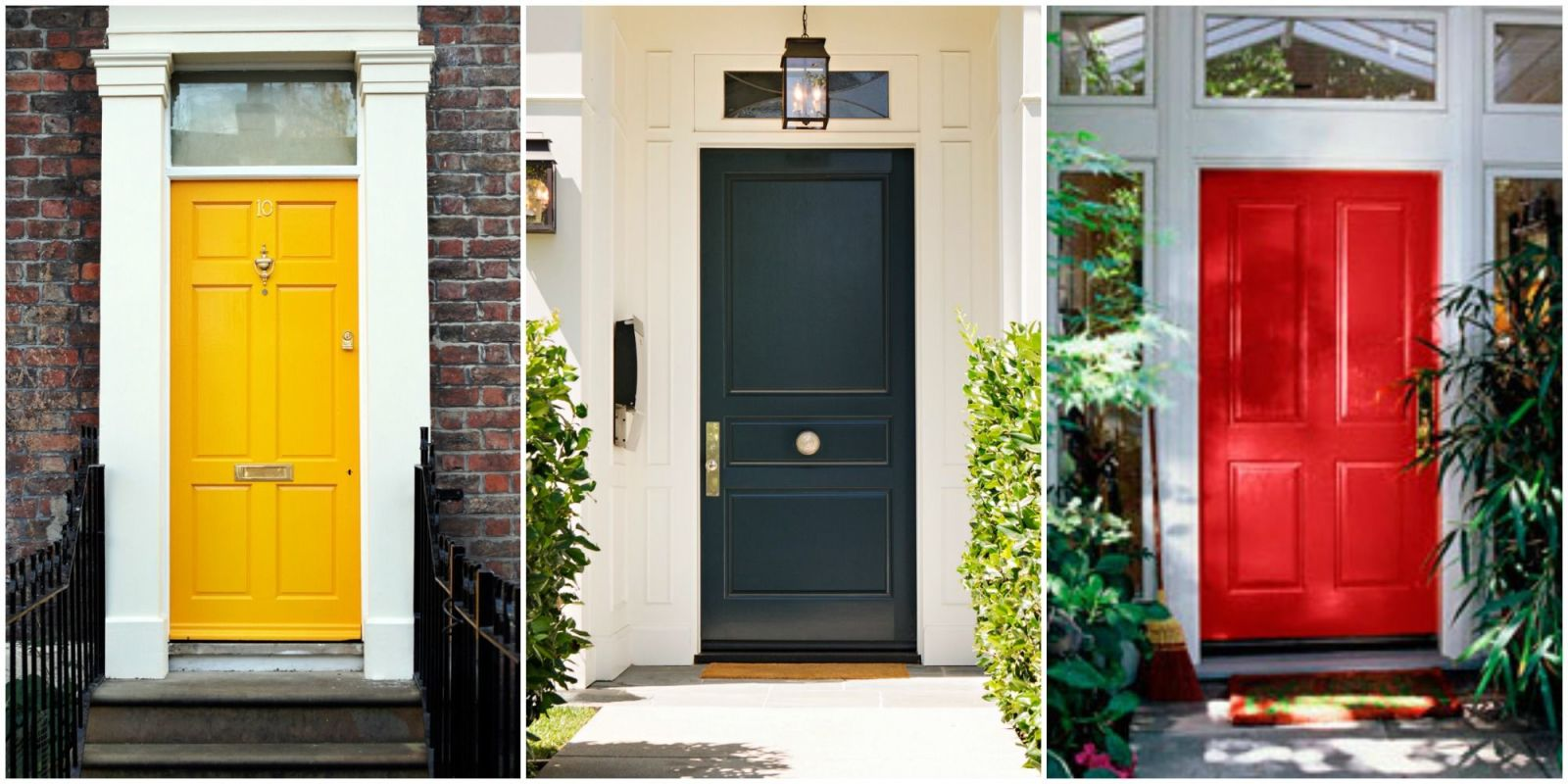Colors For Front Doors 14 best front door paint colors - paint ideas for front doors