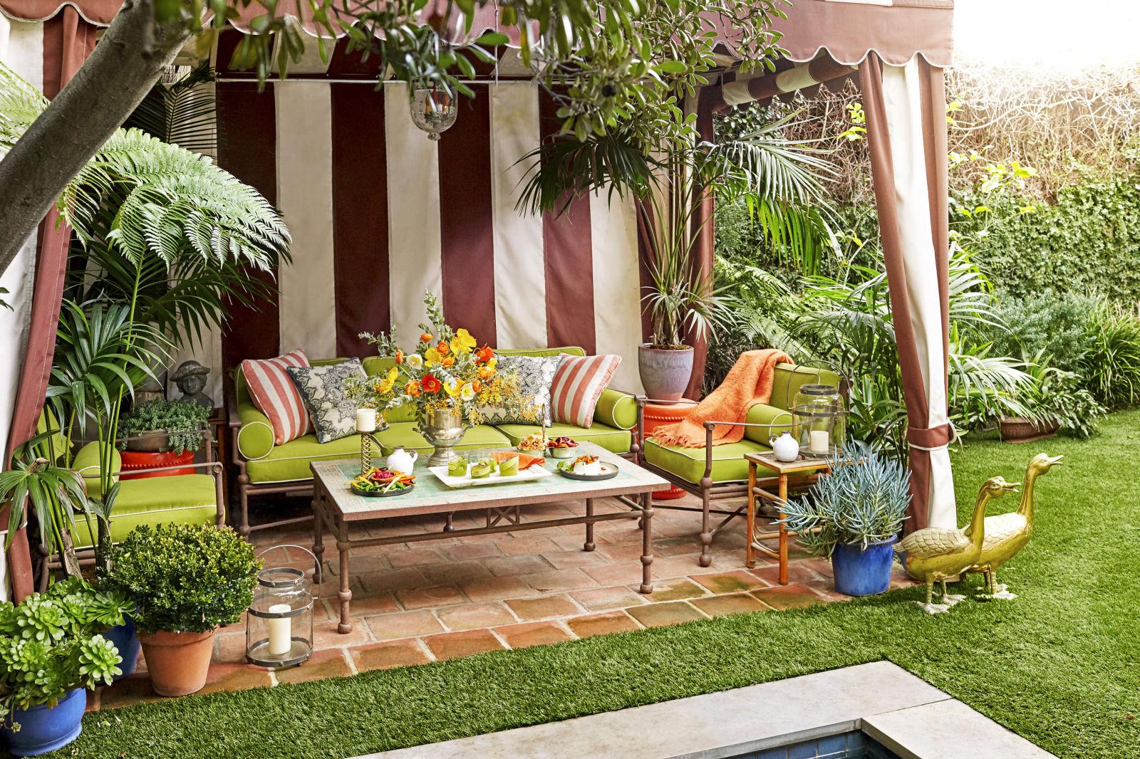 10 outdoor party ideas how to throw a backyard party - Gartenparty dekoration ...