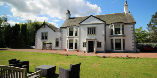 Dullatur House In Scotland Is Being Raffled For 5 Tickets