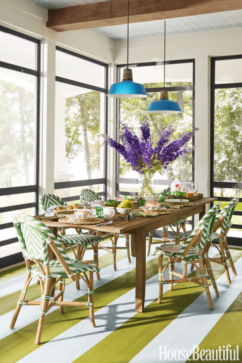 Summer Thornton wisconsin lake house - summer thornton designs a colorful vacation