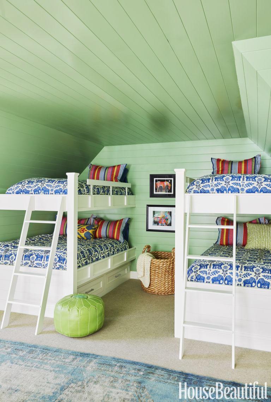 Summer Thornton summer thornton designs a colorful lake house - tour a green lake