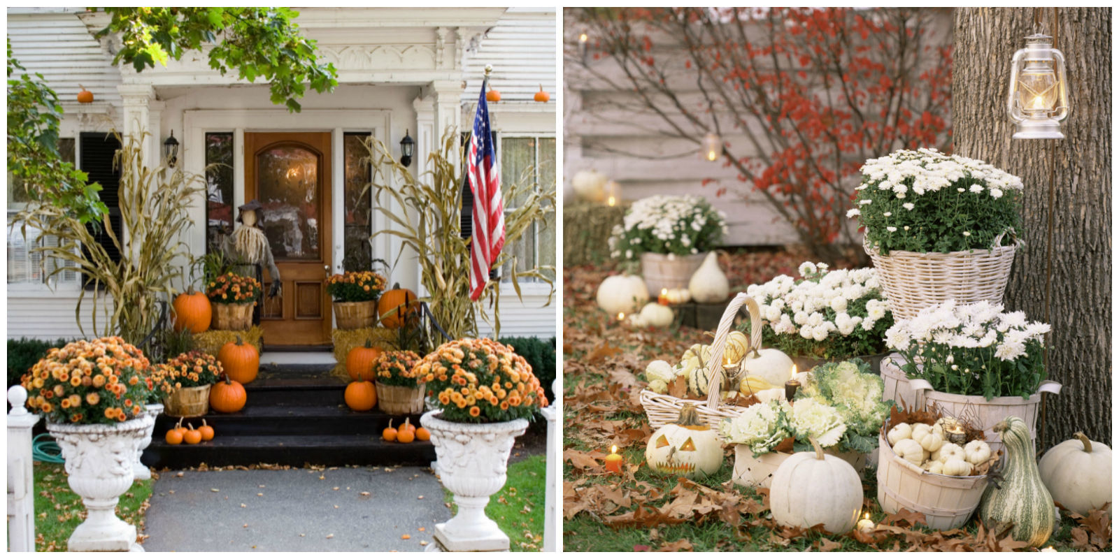 25 outdoor halloween decorations porch decorating ideas. Black Bedroom Furniture Sets. Home Design Ideas