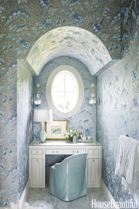 Practical Master Bathroom Ideas: Suzanne Kasler South Carolina Home Tour