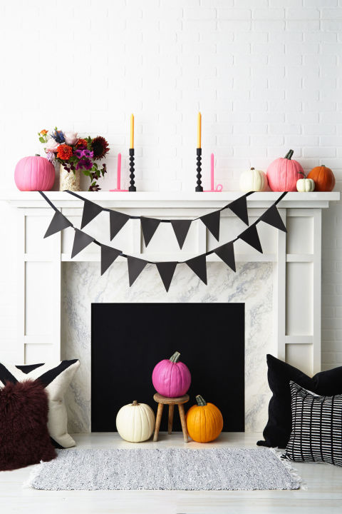 halloween pennant banner - Halloween Decoration Diy