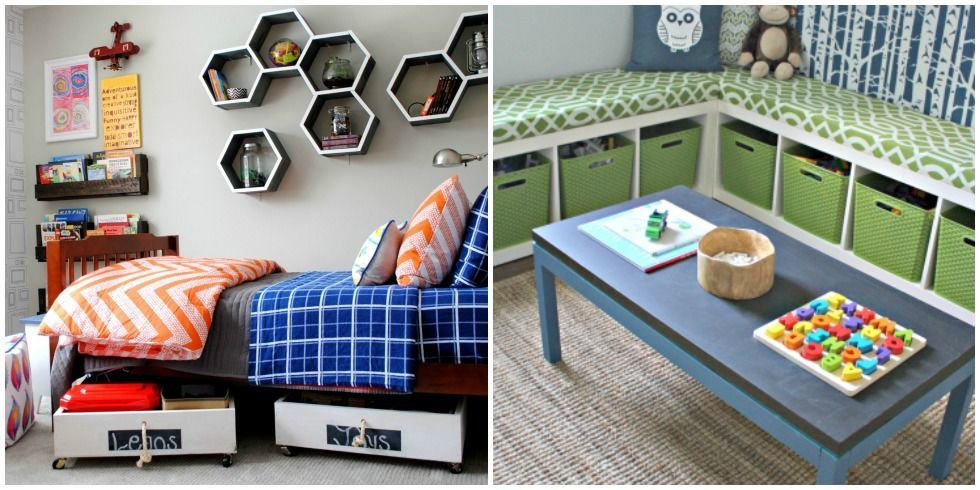 Kids Bedroom Storage 10 genius toy storage ideas for your kid's room - diy kids bedroom