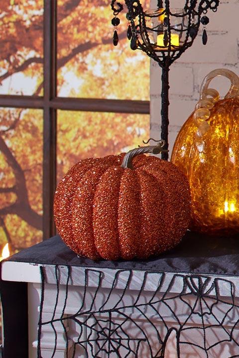 10 Best Glitter Pumpkin Ideas