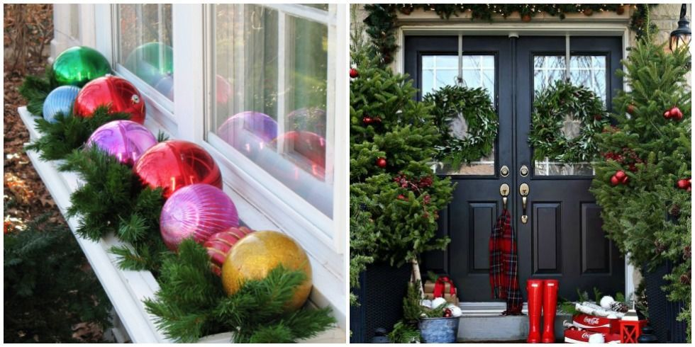 Outdoor Decorating For Christmas 25 best outdoor christmas decorations - christmas yard decorating