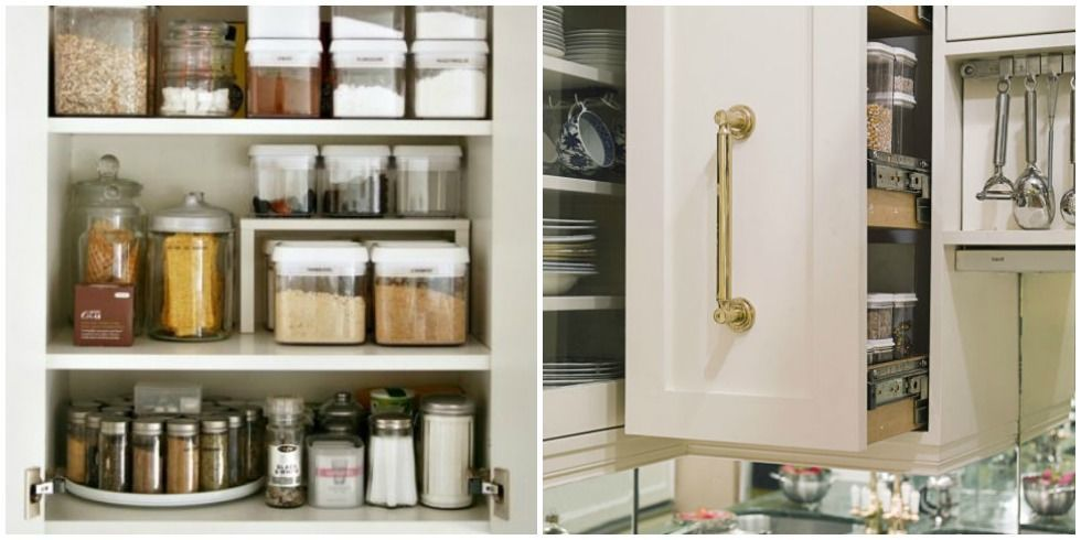 Kitchen Cabinet Storage Ideas organizing kitchen cabinets - storage tips & ideas for cabinets