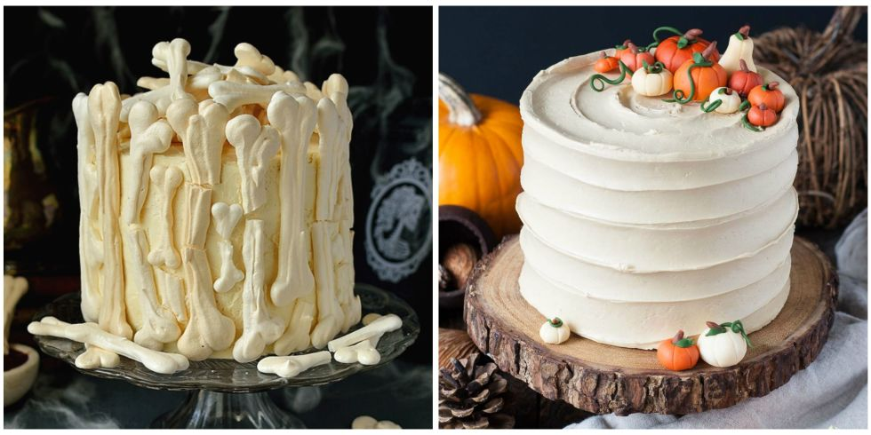 20 photos - Easy To Make Halloween Cakes