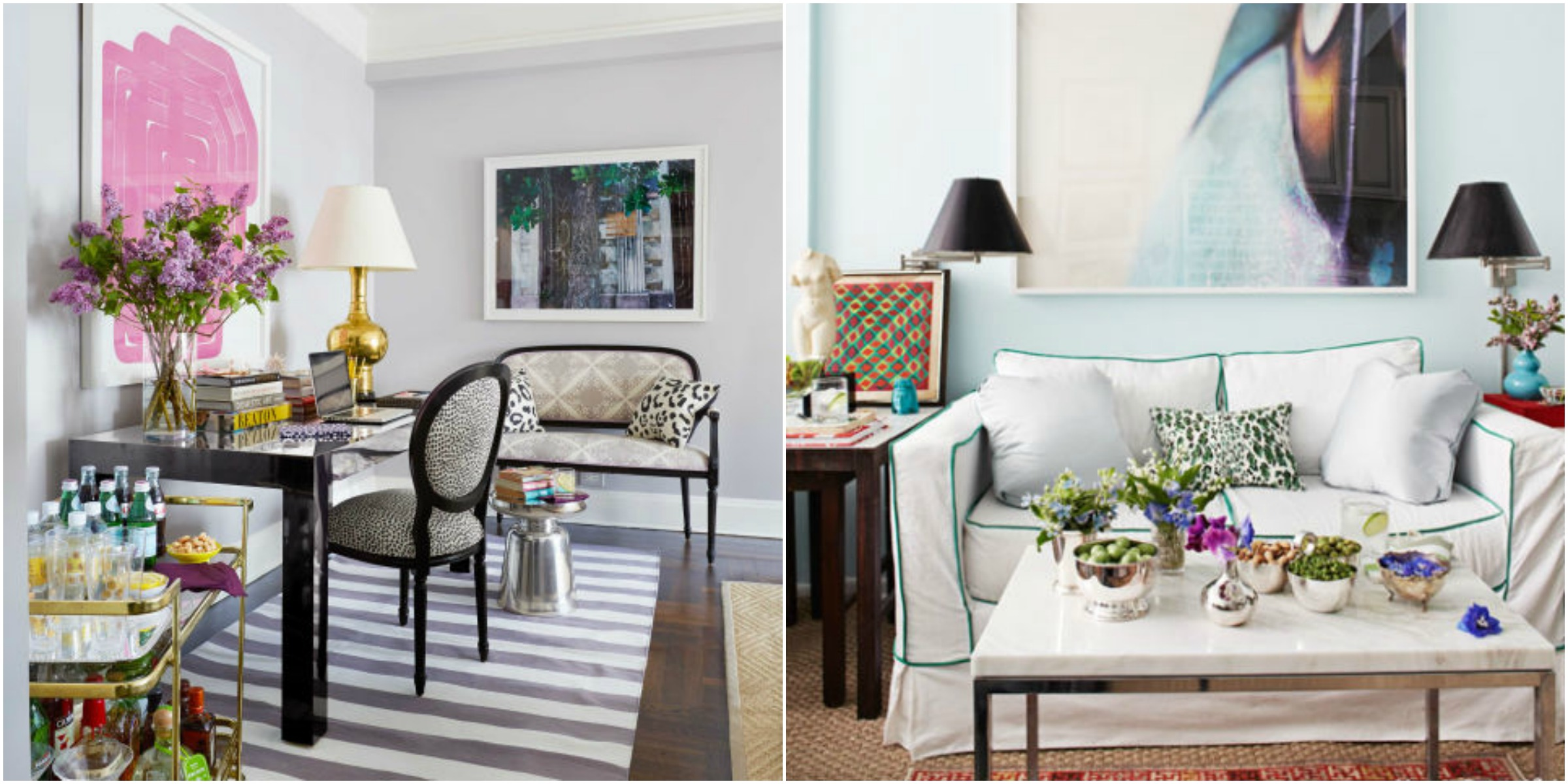 11 small living room decorating ideas how to arrange a for Beautiful small living rooms