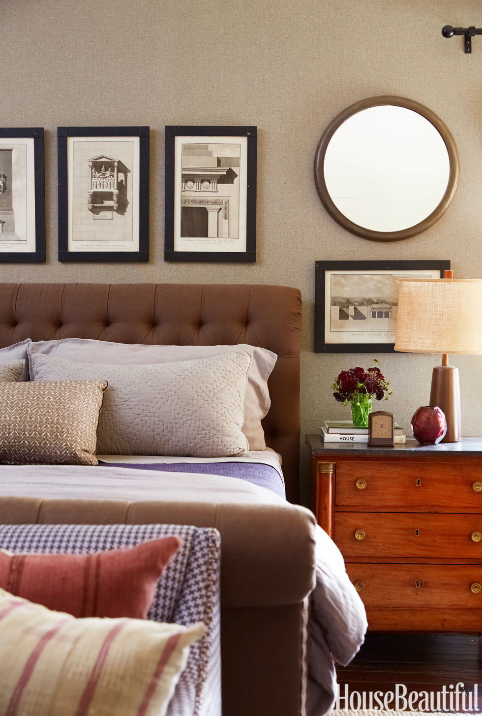 Bedroom bedroom decorating ideas with brown furniture cottage - Bedroom Bedroom Decorating Ideas With Brown Furniture Cottage 43