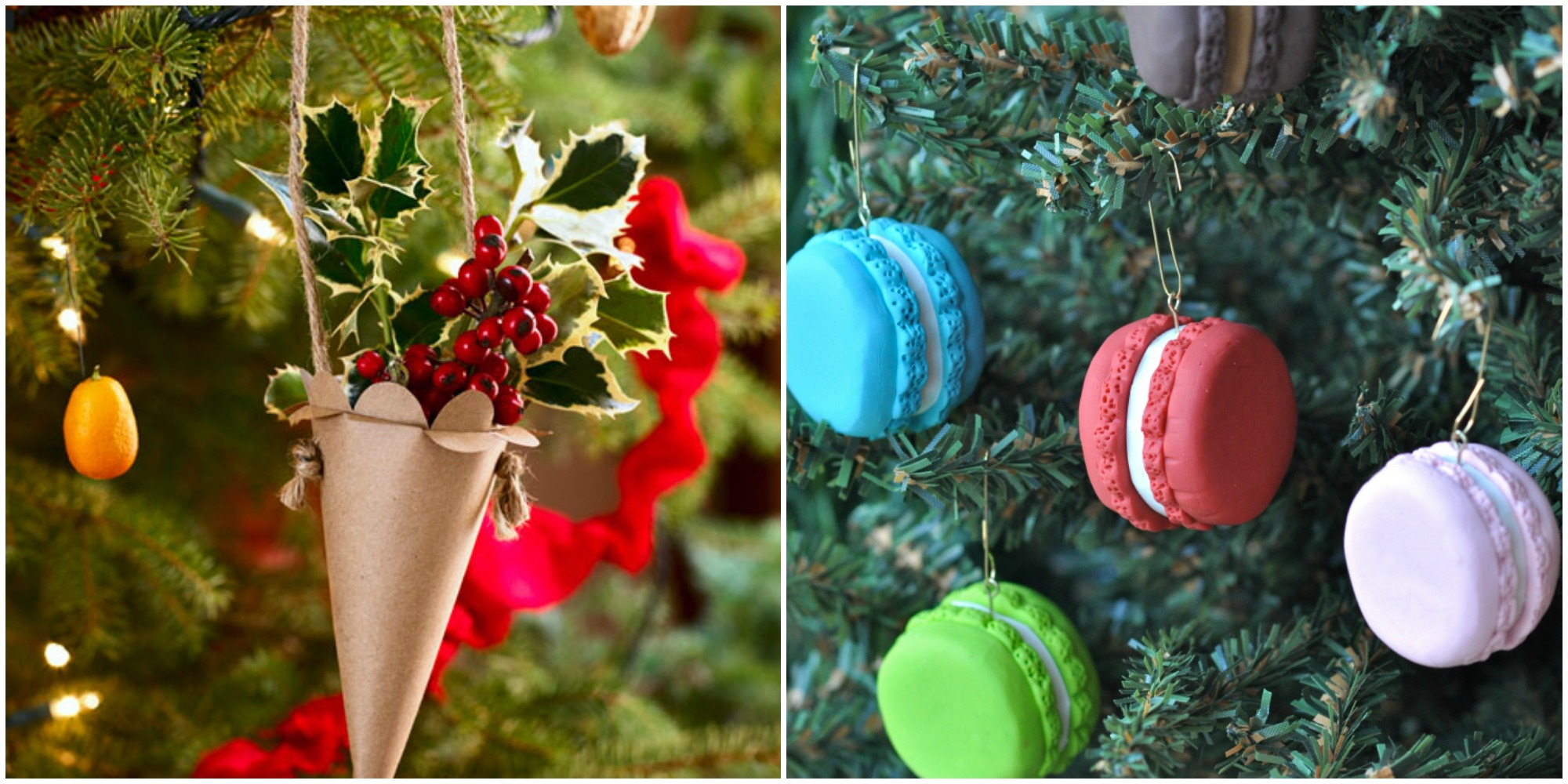 27 easy homemade christmas ornaments how to make diy for Homemade tree decorations