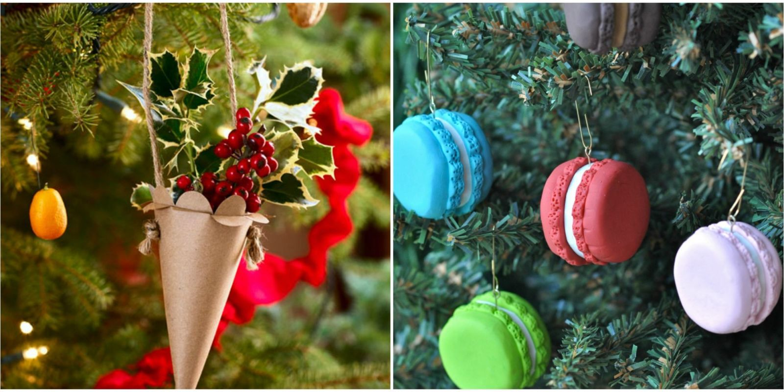27 easy homemade christmas ornaments how to make diy Diy christmas tree decorations