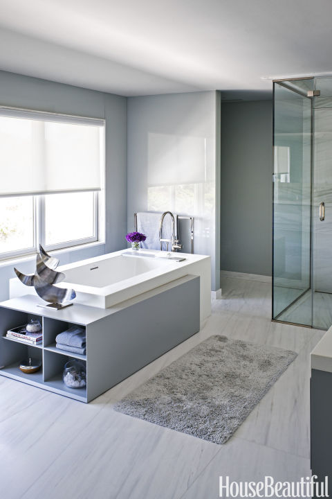 14 Best Gray Bathroom Ideas Chic Gray Bathroom Design Pictures